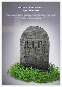 RIP Editable Word Template
