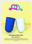 Gender Symbol Pill