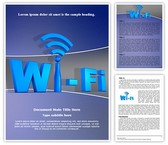 Wifi Network Technology Template