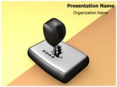Automatic Car Shift Editable PowerPoint Template