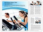 Work Out At Gym Template