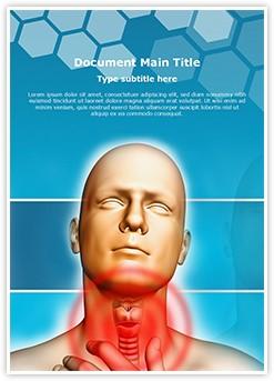 Thyroid Editable Word Template
