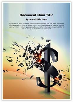 Financial Crisis Editable Word Template