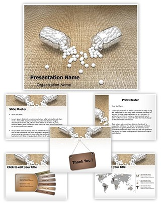 Homeopathic Drugs Editable 3D PPT Template
