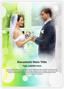 Marriage Editable Word Template