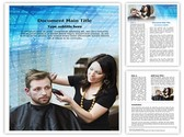 Hair Stylist Editable Word Template