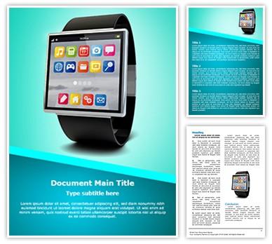 Smart Watch Editable Word Document Template
