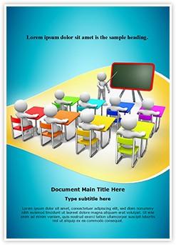 Classroom Editable Word Template