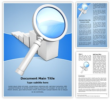 Sales Research Editable Word Document Template