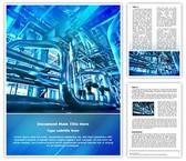 Industrial Power Plant Editable Word Template