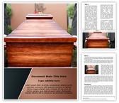 Christian Death Editable Word Template
