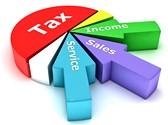Tax Revenue Pie Chart Template