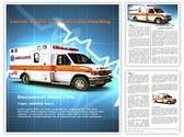 Ambulance Editable Word Template
