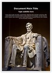 Abraham Lincoln Editable PowerPoint Template