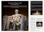 Abraham Lincoln Editable Word Template