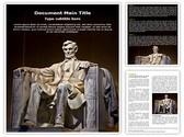Abraham Lincoln Editable Word Template