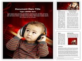 Child and Music Template