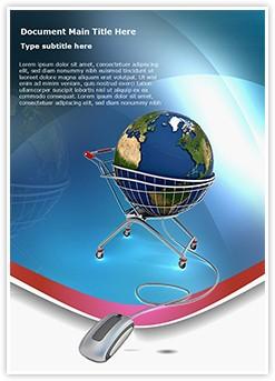 Global Shopping Editable Word Template
