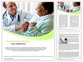 Senior Woman and Doctor Template