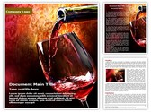 Wine Editable Word Template