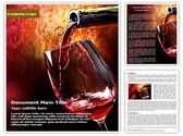 Wine Editable Word Template