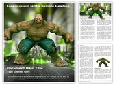 Hulk Editable Word Template