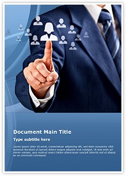 Human resources officer Editable Word Template