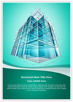 Architectural Engineering Editable Word Template
