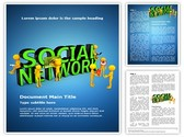 Social Network Template