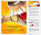 Pouring Wine Template