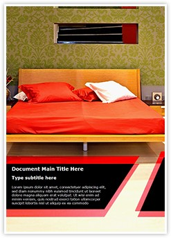 Bedroom Editable Word Template