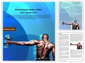 Body Builder Editable Word Template