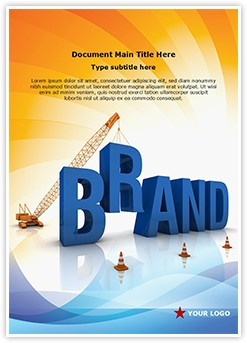 Brand Editable Word Template