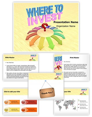 Money Investment Editable 3D PPT Template