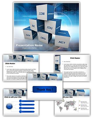 Domain Editable PowerPoint Template