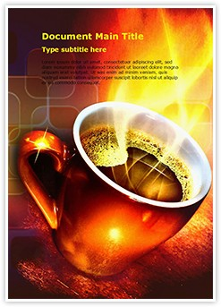 Coffee Editable Word Template