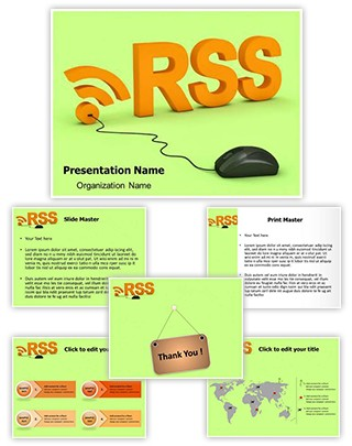 RSS Editable 3D PPT Template