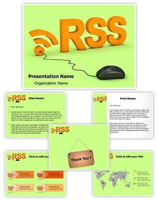 RSS Editable 3D PPT Template