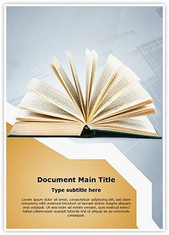 Publication Editable Word Template
