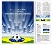 Brazil Football Soccer Template