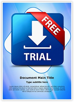 Download Software Free Trial Editable Word Template