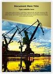 Shipyard Monumental Cranes