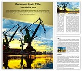 Shipyard Monumental Cranes Template