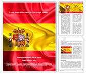 National Flag Spain Template