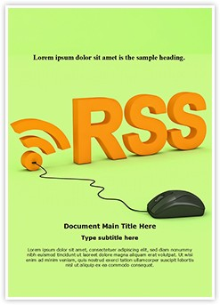 RSS Editable Word Template