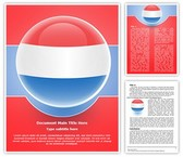 Netherlands Flag Icon Template