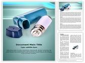 Asthma Inhaler Template
