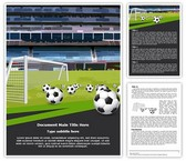 Goal Keeper Soccer Sports Template