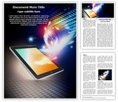 Mobile Media Tablet Template