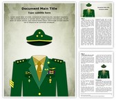 General Military Uniform Template